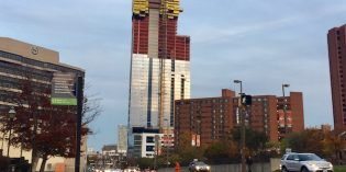 414 Light Street Skyscraper in the Inner Harbor Reaches Final Height of 44 Stories