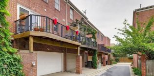 Rental Spotlight: Three-Bedroom Federal Hill Townhome with a Two-Car Garage