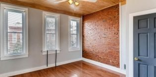 Tuesdays Under 250: Charming Rowhome in South Baltimore with Two Bedrooms and a Den